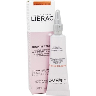 LIERAC DIOPTIFATIGUE GEL CREMA 15ML