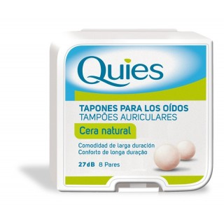 TAPONES QUIES CERA 16 U