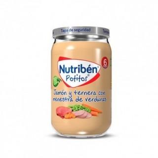 NUTRIBEN POTITO POLLO Y TERNERA CON VERDURITAS 235 G