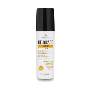 HELIOCARE 360¦ SPF 50+ COLOR GEL OIL-FREE PROTEC BEIGE 50 ML