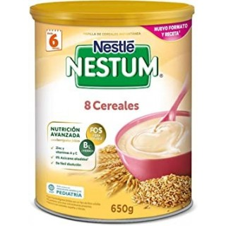 NESTLE EXPERT PAPILLA 8 CEREALES 650 G