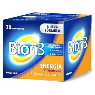BION 3 ENERGIA 30 COMPRIMIDOS