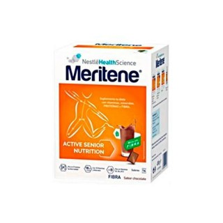 MERITENE FIBRA 35 G 14 U CHOCOLATE