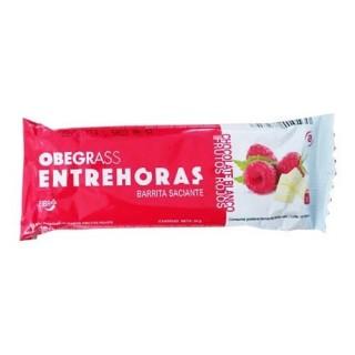 OBEGRASS ENTREHORAS BARRITA CHOCOLATE BLANCO Y F 30 G