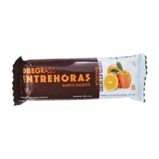 OBEGRASS ENTREHORAS BARRITA CHOCOLATE NEGRO Y NA 30 G