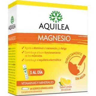 MAGNESIO AQUILEA GRANULADO 14 SOBRES 3 G