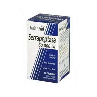 SERRAPEPTASA 60000 UI 30 CAPS HEALTH AID