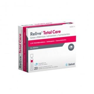 RELIVE TOTAL CARE GOTAS OFTALMICAS ESTERIL 0.4 ML 20 MONODOSIS