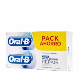 ORAL-B PASTA ENCIAS Y ESMALTE REPAIR ORIGINAL 2 X 100 ML