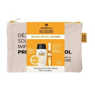 HELIOCARE IFC PACK WATER GEL + AMPOLLAS OIL FREE